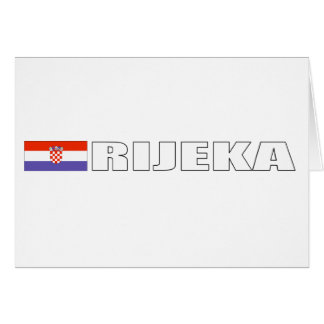 Rijeka, Croatia Card