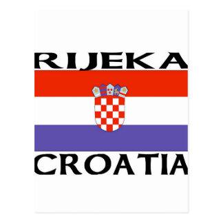 Rijeka, Croatia Postcard