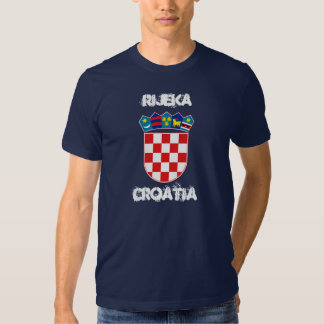 Rijeka, Croatia with coat of arms Shirt