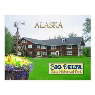 Rika s Landing Roadhouse Big Delta Alaska Postcard