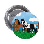 Riki y J.R. Button Pins