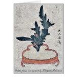 Rikka flower arrangement by Kitagawa,Tsukimaro Cards