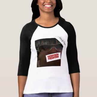 rikki la rouge+Canvas 3/4 Sleeve Raglan T-Shirt
