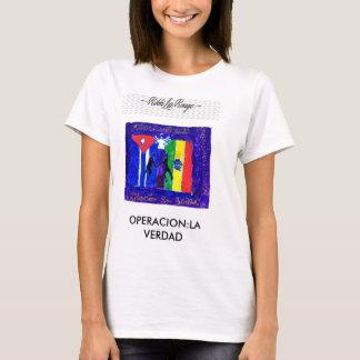 RIKKI LA ROUGE OPERACION LA VERDAD CAMISA T-Shirt