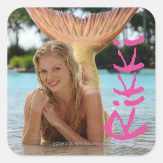 Rikki Square Sticker