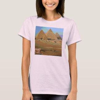 Riley at the Pyramids in Giza, Egypt T-Shirt