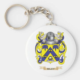 Riley Coat of Arms (Family Crest) Keychain