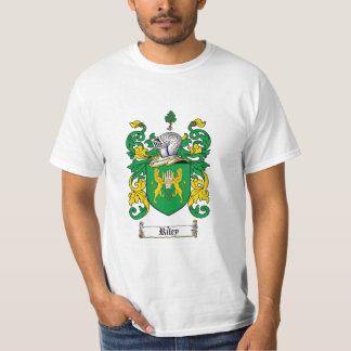 Riley Family Crest - Riley Coat of Arms T-Shirt