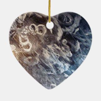 """Riley's View"" Heart Ornament"
