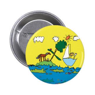 Riley's WaterWorld Pinback Buttons