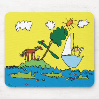 Riley's WaterWorld Mouse Pad