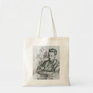 Rilke - bosquejo bolsas lienzo