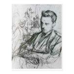 Rilke - Sketch Postcard