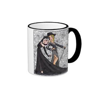 Rill and Zoe Ringer Coffee Mug