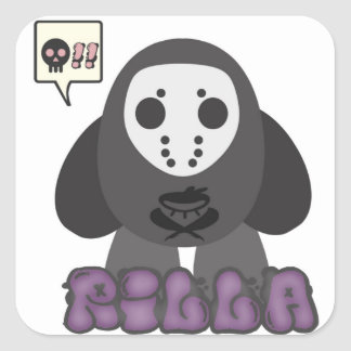 'Rilla Loves Doom' Sticker