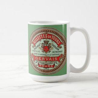 Rillettes de Tours Vintage French Label Mug