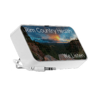 Rim Country Health Promo iPod Speakers