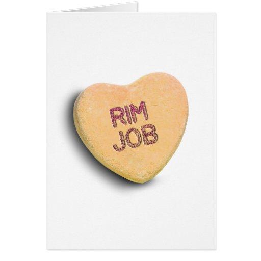 RIM JOB CANDY -.png Greeting Card