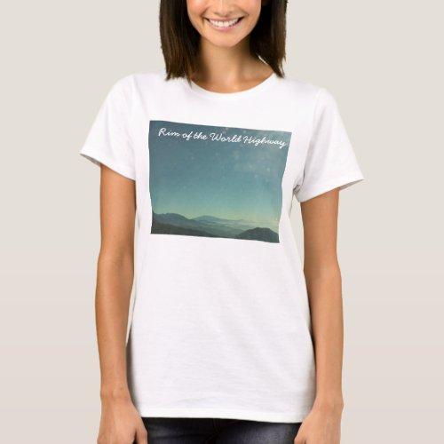 Rim of the World Highway shirt