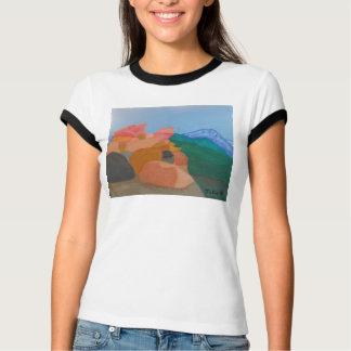 Rim of the World Shirt by Julia Hanna