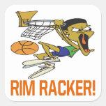 Rim Racker Square Sticker