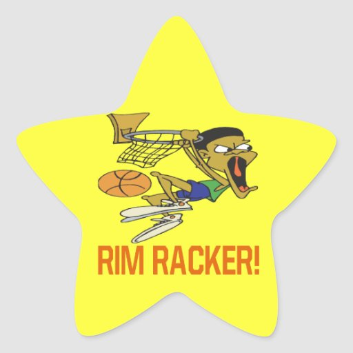 Rim Racker Star Stickers