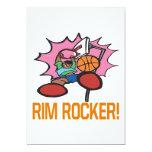 Rim Rocker 5x7 Paper Invitation Card