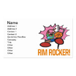 Rim Rocker Double-Sided Standard Business Cards (Pack Of 100)