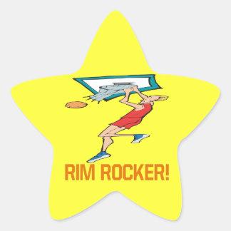 Rim Rocker Star Sticker