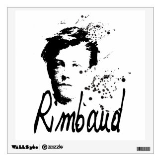 RIMBAUD Graphic Art Wall Decal