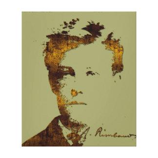 Rimbaud Impresión En Lona Estirada