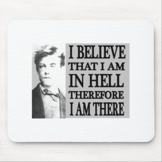 Rimbaud in Hell Mouse Pads