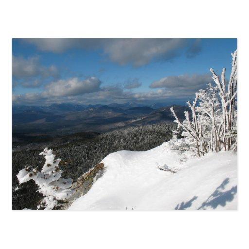 Rime Ice on Mt Chocorua Postcard