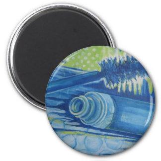 Rimel azul eléctrico imán de nevera
