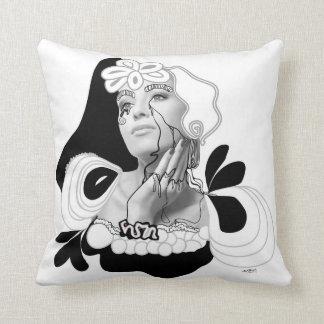 Rimmel Diva Throw Pillow