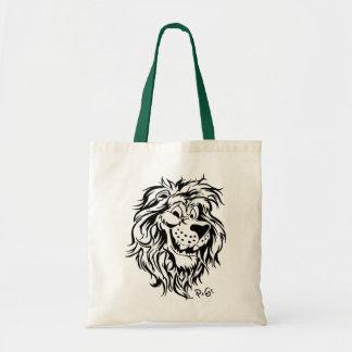 Rimonimus the verschmitze lion tote bag