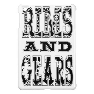 Rims and Gears iPad Mini Cover