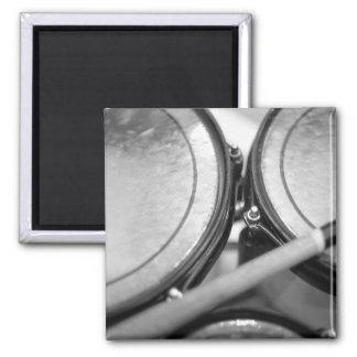 Rims Lug Nut Drumstick Tom picutre 2 Inch Square Magnet
