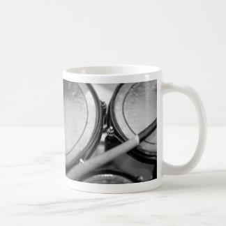 Rims Lug Nut Drumstick Tom picutre Classic White Coffee Mug