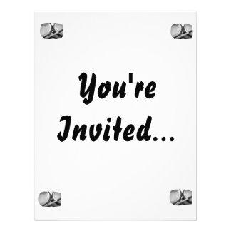 Rims Lug Nut Drumstick Toms Square Personalized Invitation