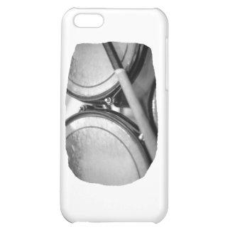 Rims Lug Nut Drumstick Toms Square iPhone 5C Cases