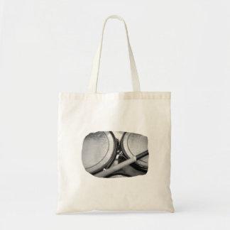 Rims Lug Nut Drumstick Toms Square Tote Bag