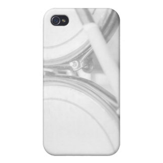Rims Lug Nut Drumstick Toms washed out Cases For iPhone 4