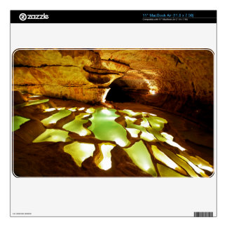 Rimstone Formation in Caves MacBook Decal