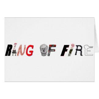 RIN OFF FIRE LOGO CARD
