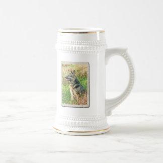 Rin Tin Tin tribute mug