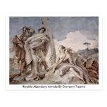 Rinaldo Abandons Armida By Giovanni Tiepolo Postcard