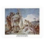 Rinaldo Abandons Armida Postcard