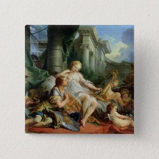Rinaldo and Armida, 1733 Pinback Button