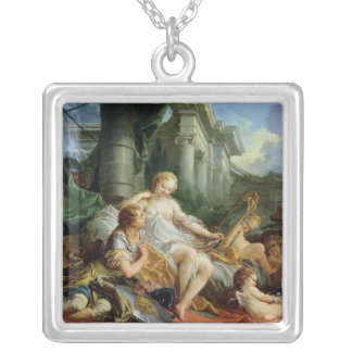Rinaldo and Armida, 1733 Silver Plated Necklace